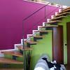 Pitturazione all'interno su pareti con pittura Uno Superlavabile(Colorificio San Marco) e pittura Laguna lavabile traspirante (Colorificio San Marco) presso abitazione privata.